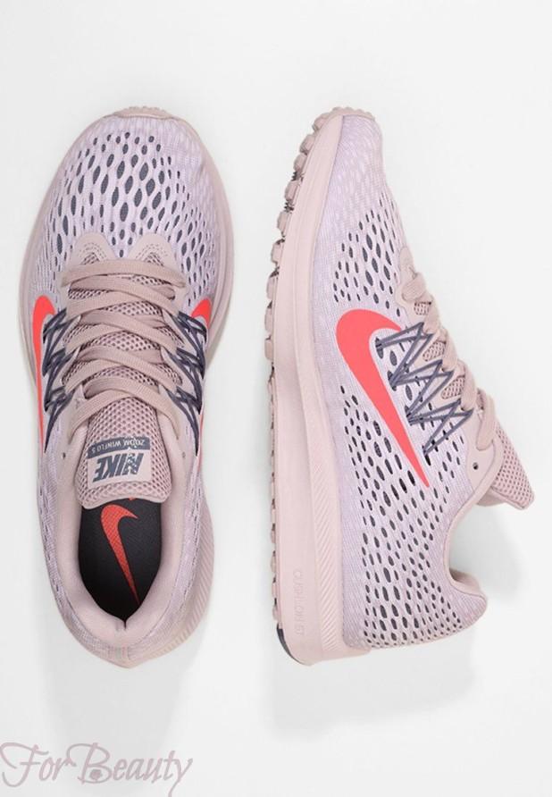 Модные розовые женские кроссовки 2018