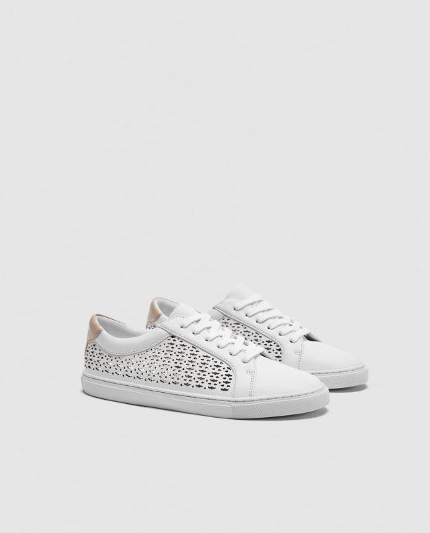 Модные белые женские кроссовки 2018-2019