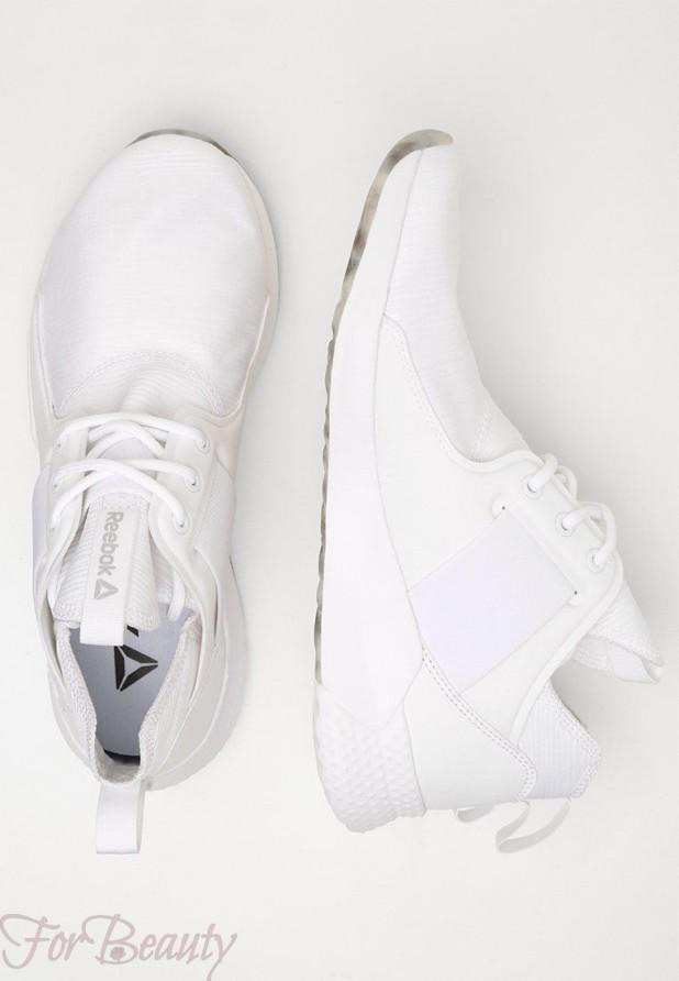 Женские белые кроссовки 2018