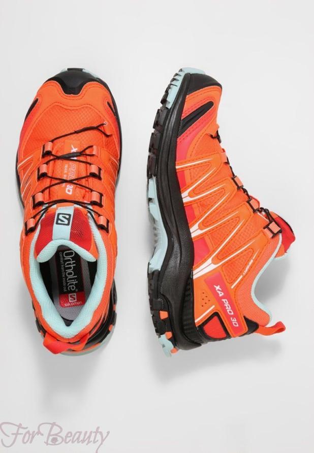 Модные оранжевый женские кроссовки 2018