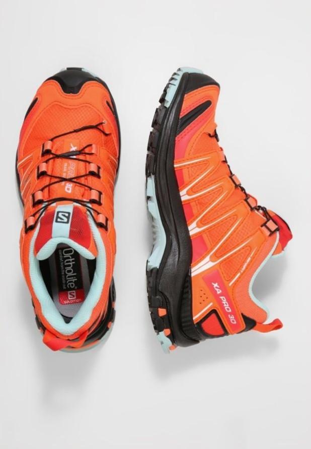 Модные оранжевый женские кроссовки 2018-2019