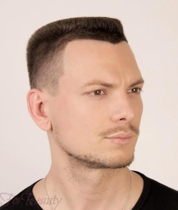 Мужская стрижка «Бобрик» 2018