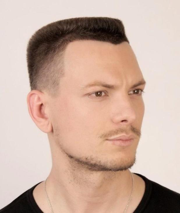Мужская стрижка «Бобрик» 2018 2019