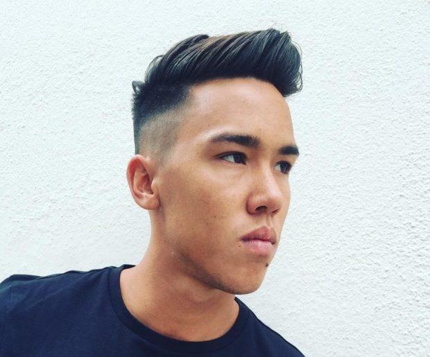 Мужская стрижка «undercut» модные тенденции фото новинки