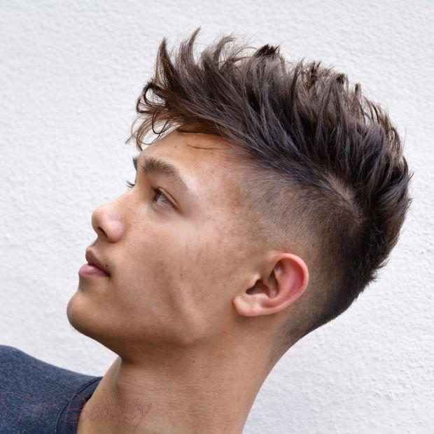 модная мужская стрижка «undercut» модные тенденции фото