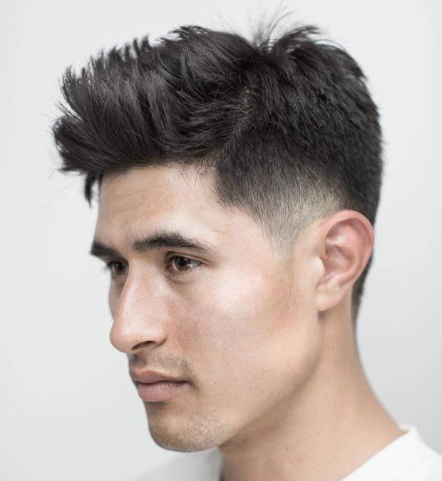 Мужская стрижка Помпадур фото 2019 2020