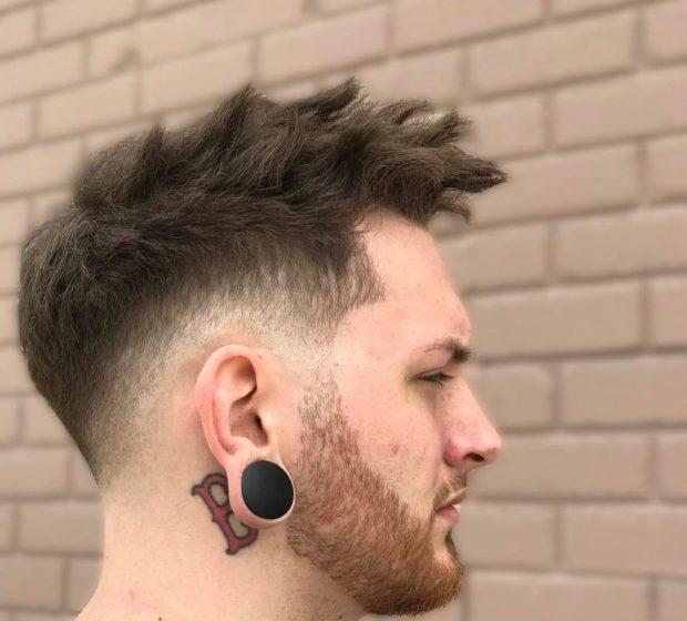 стильная мужская стрижка «undercut»