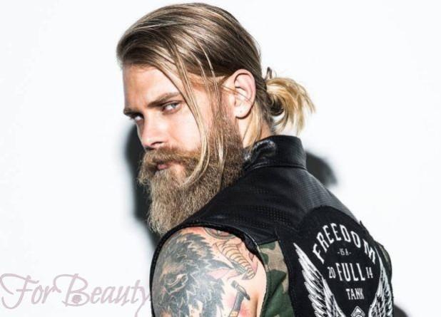 Мужские стрижки с челкой 2018 2019 модные тенденции новинки фото на длинные волосы