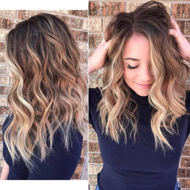 Особенностибалаяжана русые волосы