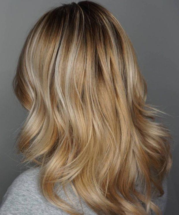 Окрашиваниебалаяжна русые волосы: оттенки