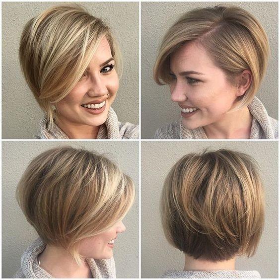 Окрашиваниебалаяжкоротких русых волос фото