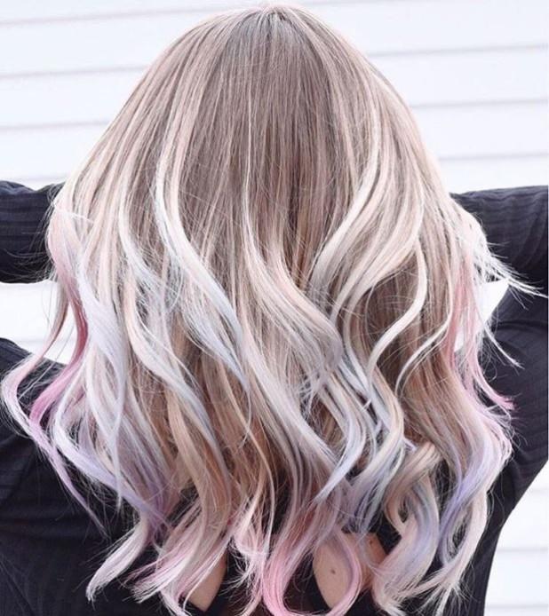 Окрашиваниебалаяжна русые волосы: оттенки пепельный
