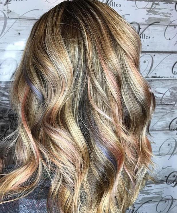 Окрашиваниебалаяжна русые волосы: оттенки медовый