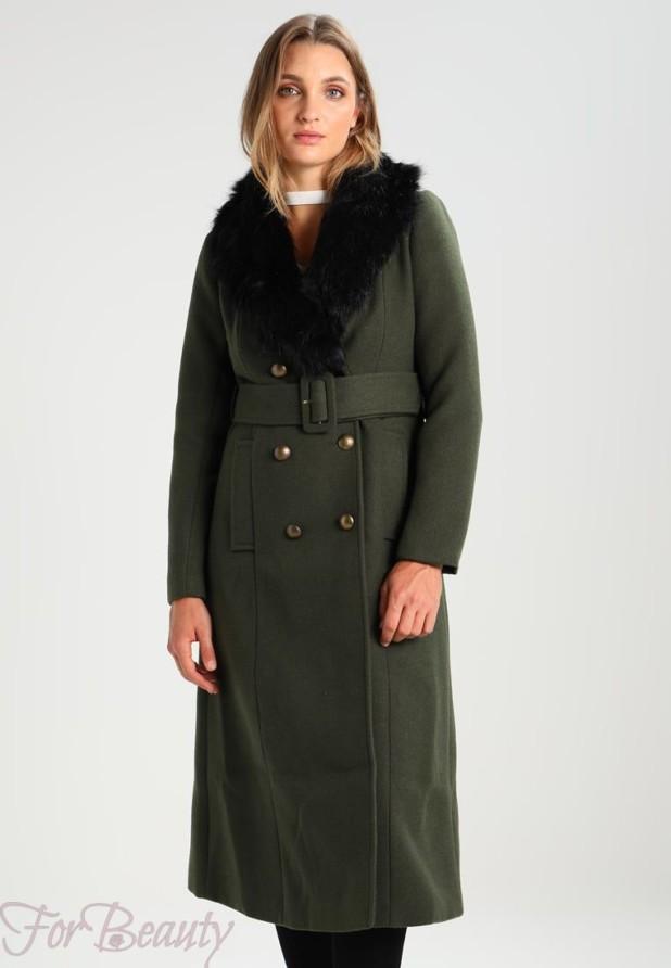 Женское пальто в стиле «Милитари» 2018 фото новинки
