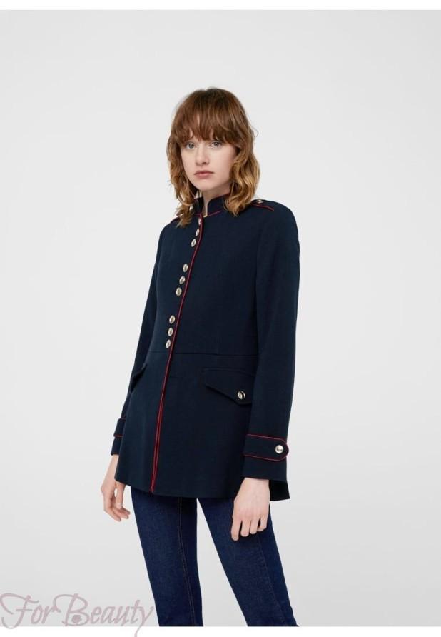 Женское короткое пальто мундиры 2018 фото новинки