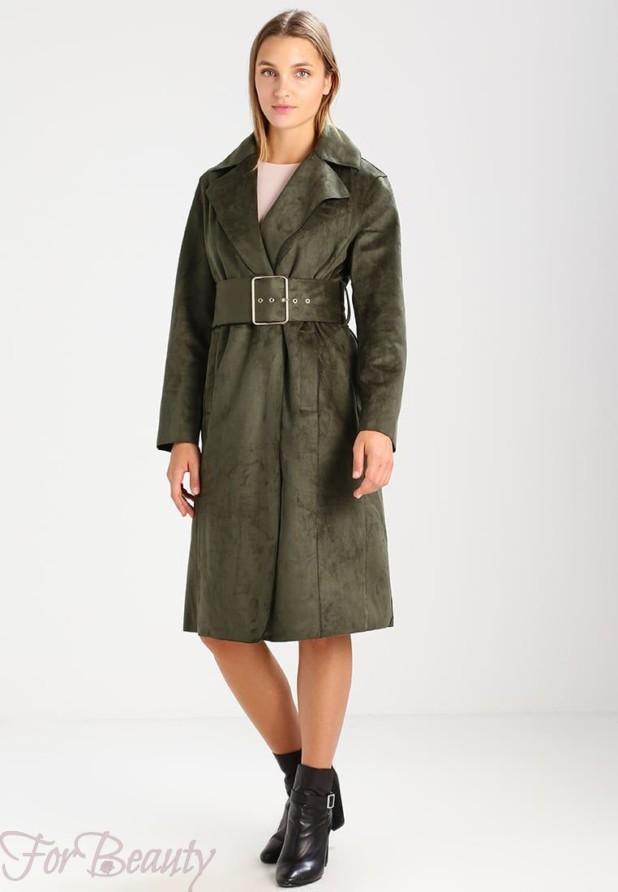 Женское пальто из замши 2018 фото новинки