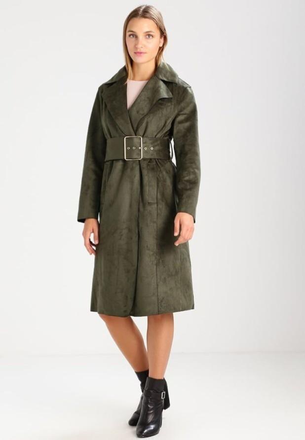 пальто модные тенденции: Женское из замши