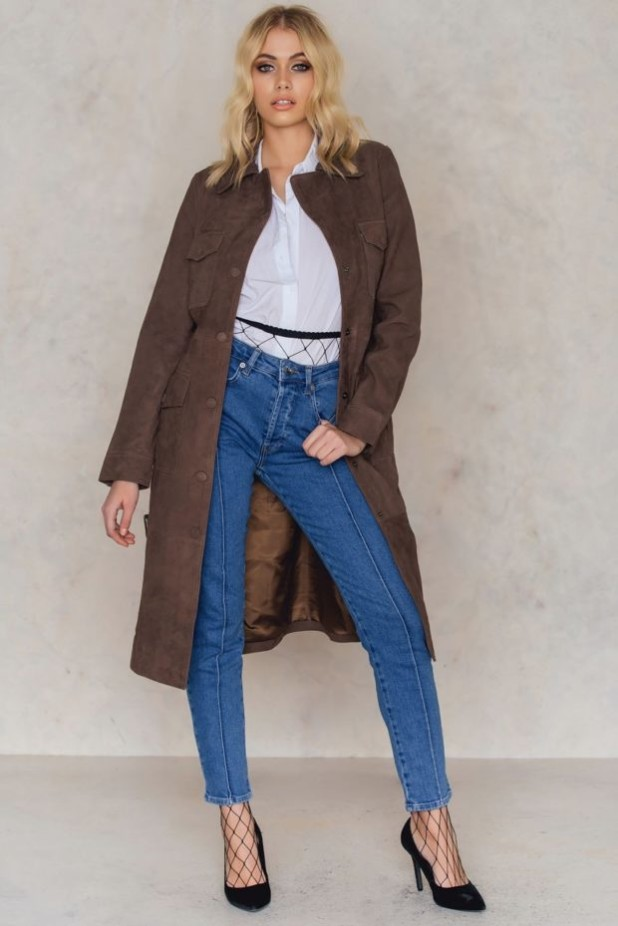 пальто модные тенденции: Женское стильное из замши