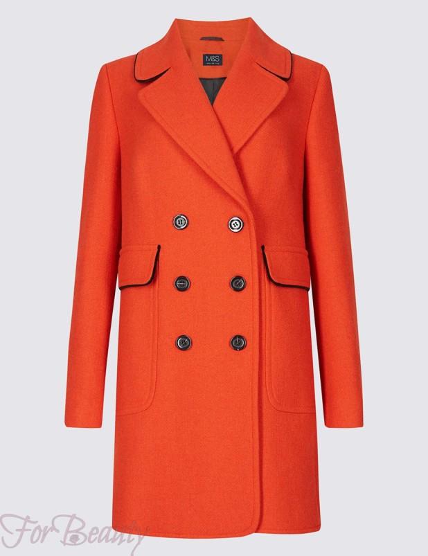 Модные фасоны и цвета пальто 2018 года