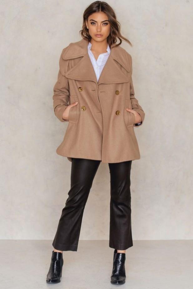 пальто модные тенденции: укороченный бушлат женский