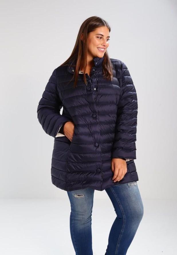 женское пальто: пуховик фото новинки