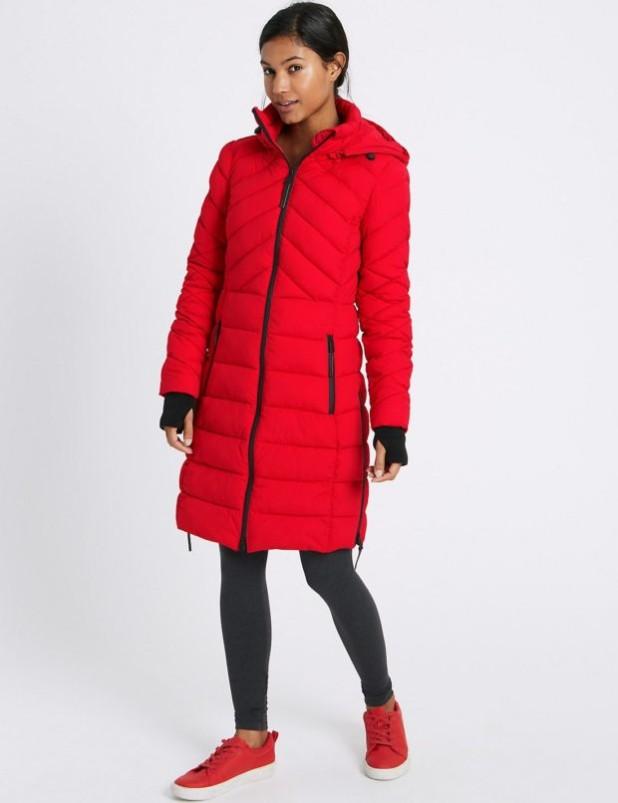 женское пальто: модное пуховик фото новинки
