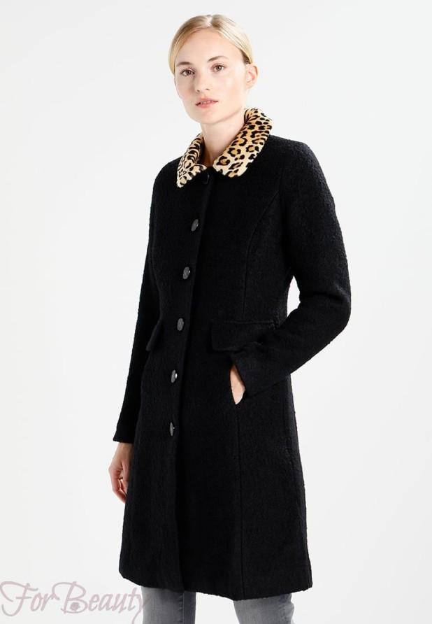 Женское черное пальто 2018 фото новинки