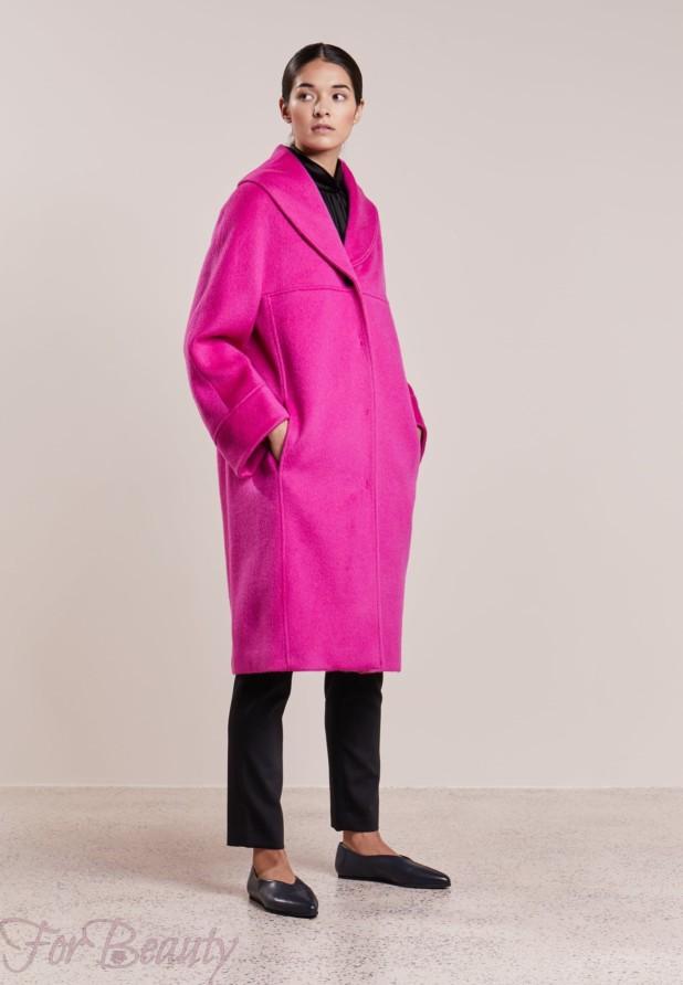 Женское пальто в стиле «Оверсайз» 2018 фото новинки