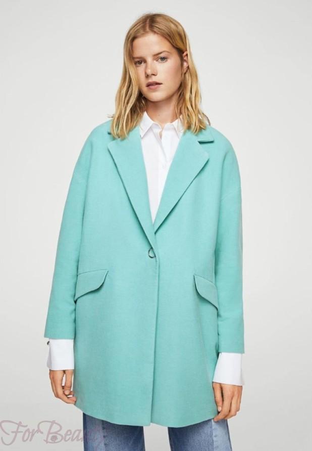 Женское модное пальто в стиле «Оверсайз» 2018 фото новинки