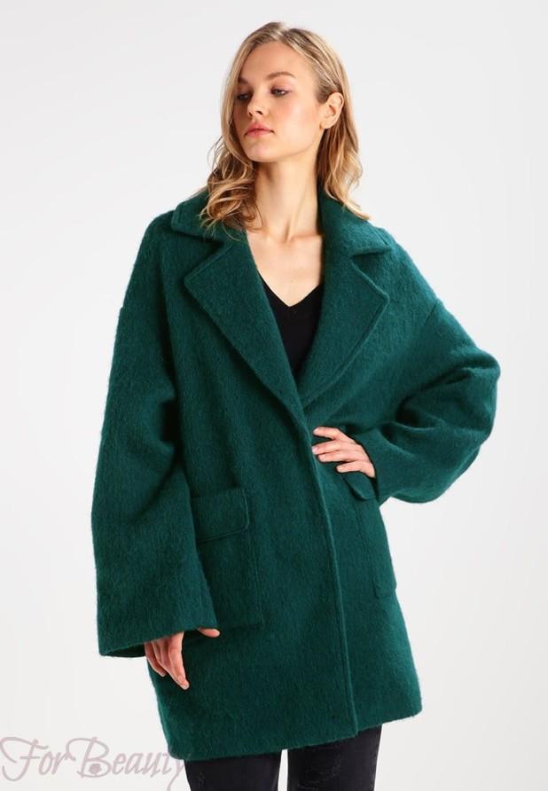 Женское стильное пальто в стиле «Оверсайз» 2018 фото новинки