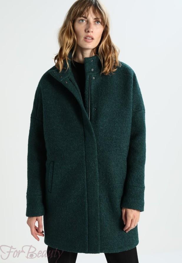 Женское пальто в стиле «Оверсайз» 2018 фото новинки короткое