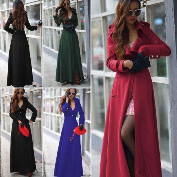 пальто модные тенденции: Женское длинное яркое