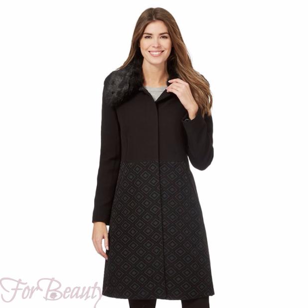 Классическое модное женское пальто 2018 фото новинки