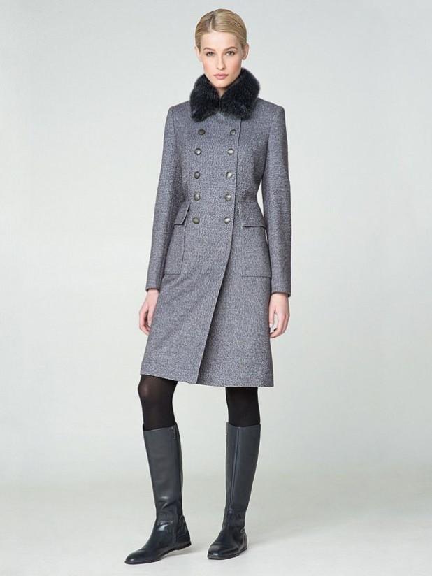 женское пальто: в стиле Милитари