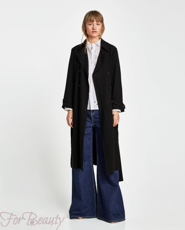 Пальто черное 2018 года