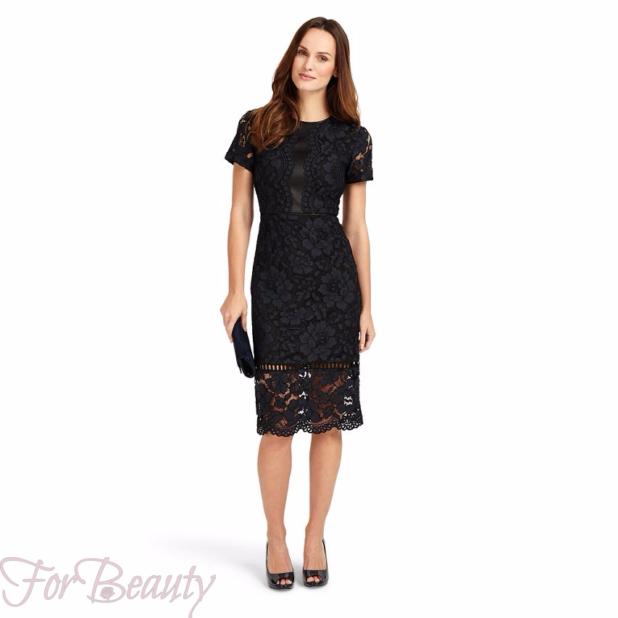 Модные кружевные платья 2018