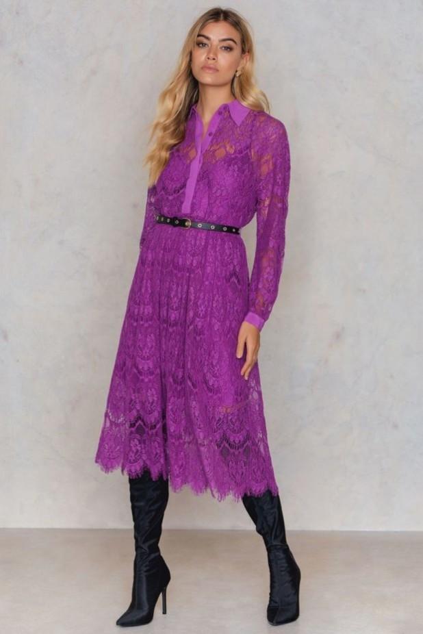 модные платья: кружевные фото