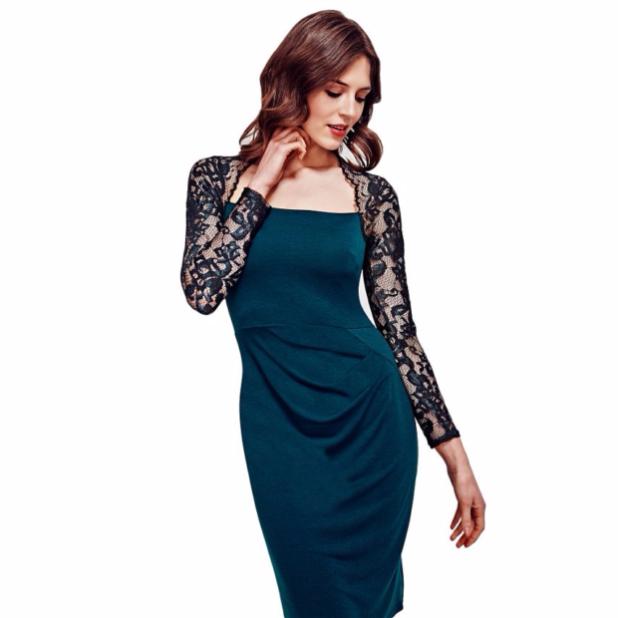 модные платья: с накидкой