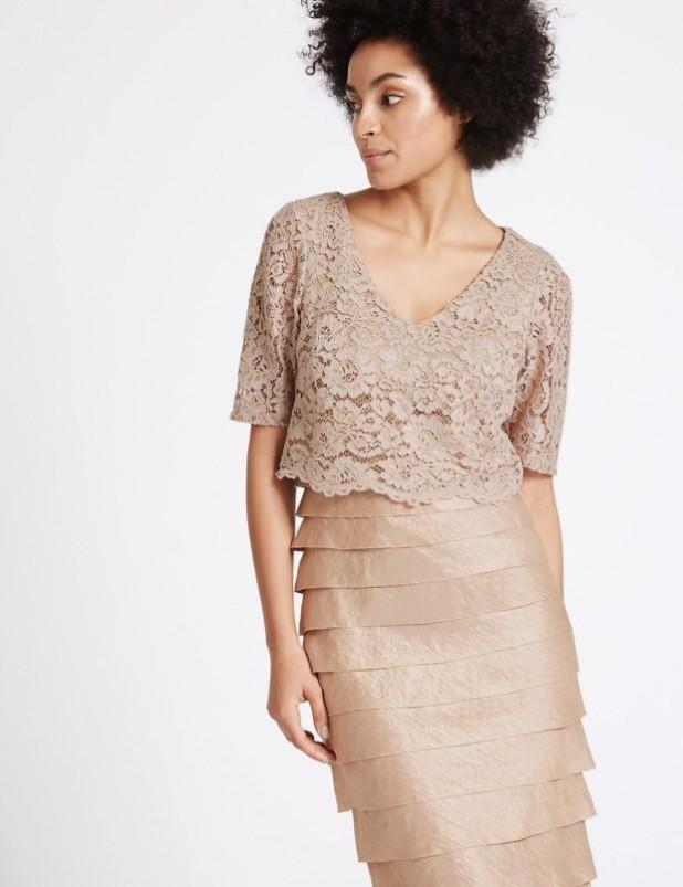 Модные платья с накидкой фото
