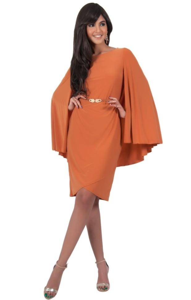 Модные платья с накидкой бежевые