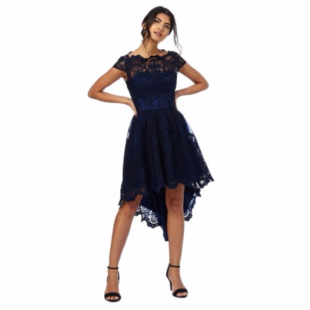 модное платье: платья Маллет кружевное