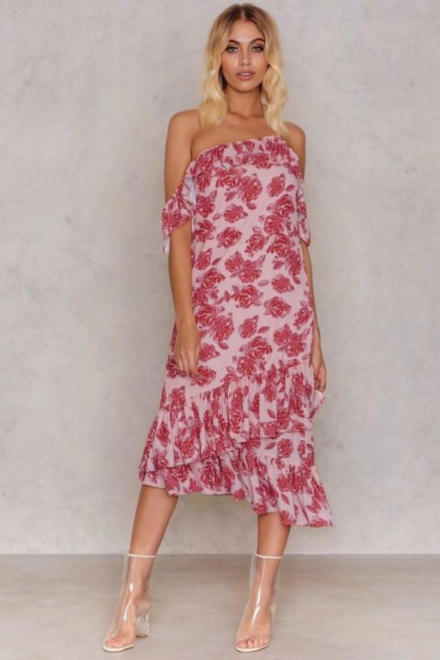 Модные платья с цветочнымипринтами