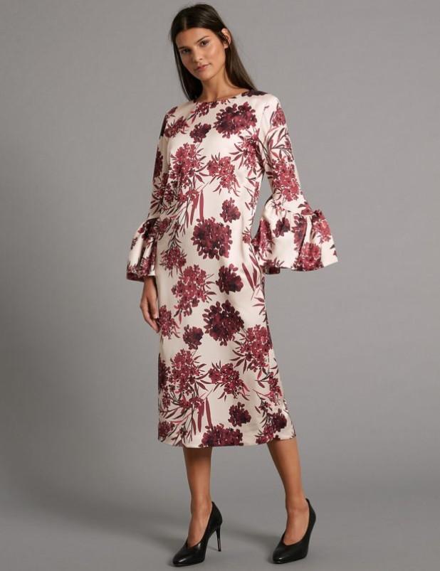 Модные платья с цветочнымипринтамифото