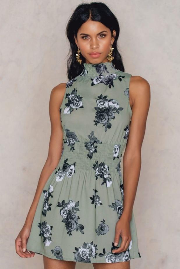 Модные платья с цветочнымипринтамимини