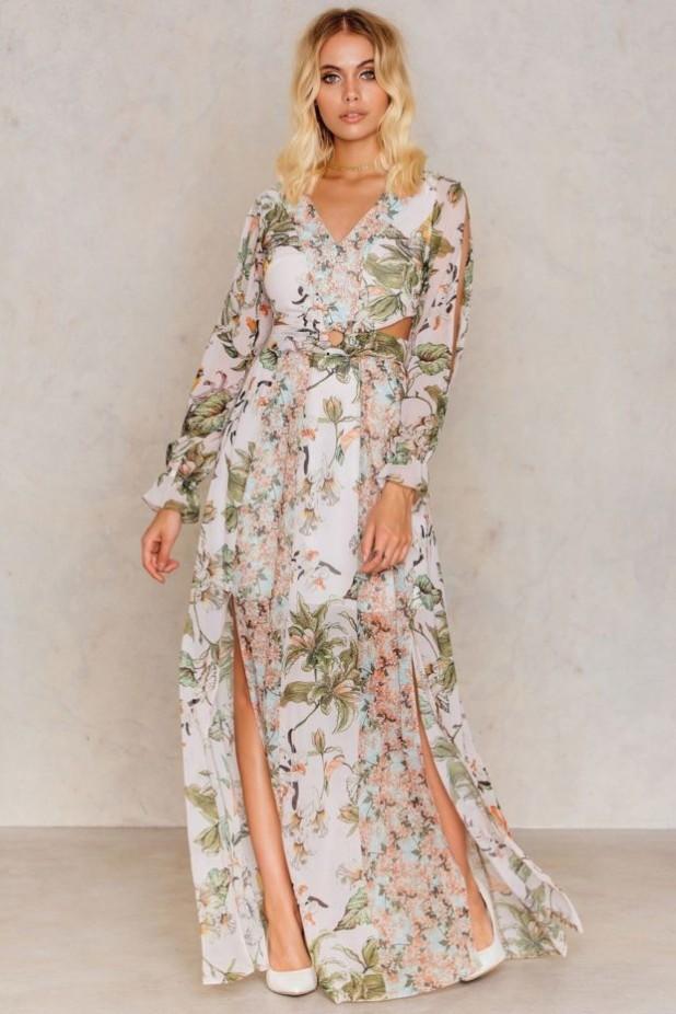 стильные платья с цветочнымипринтами