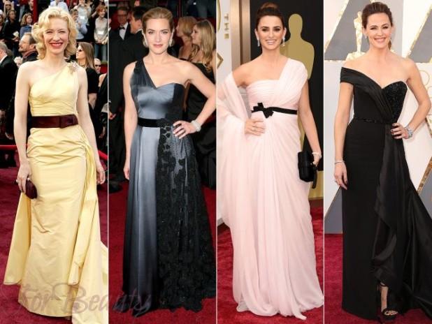 Модные фасоны для вечерних платьев 2018