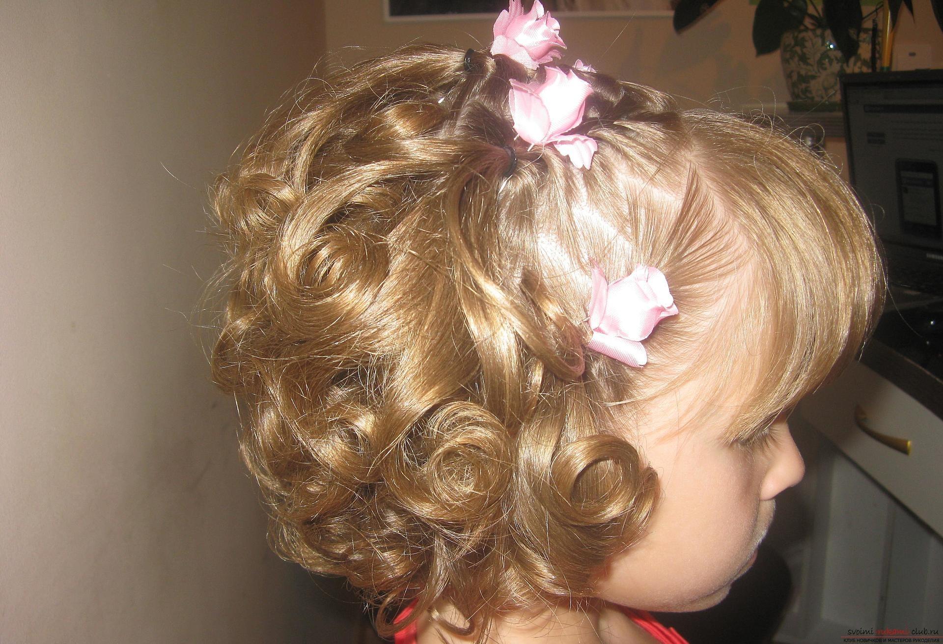 Причёски на 1 сентября на длинные волосы