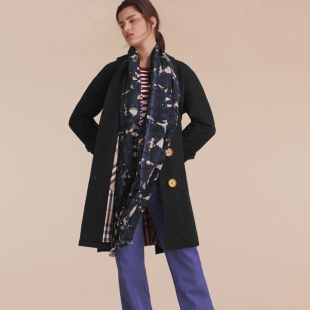 Как завязать шарф на пальто – вариант стиля в фото классический