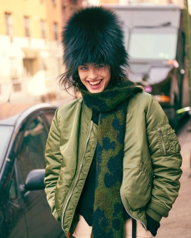 шарф с пальто фото