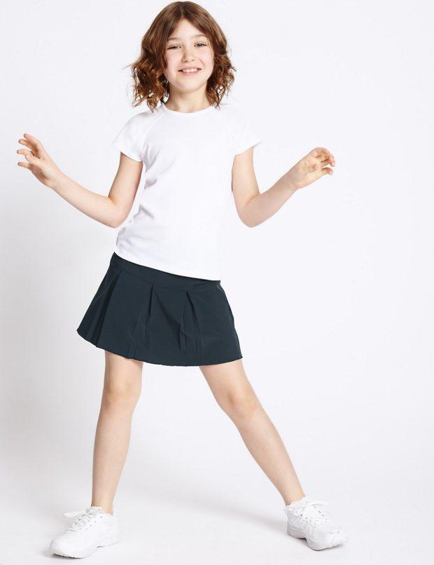 Школьная юбки для девочек 2018 2019 фото